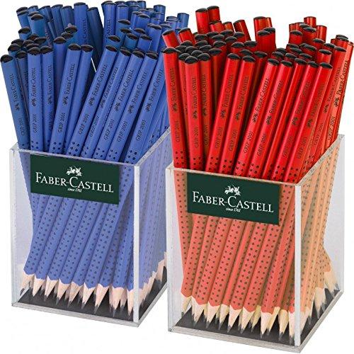 Faber-Castell Grip 2001 B 144pieza(s) - Lápiz 144 (B, Azul, Rojo, Triangular, 144 Lápiz pieza(s)) 9748da