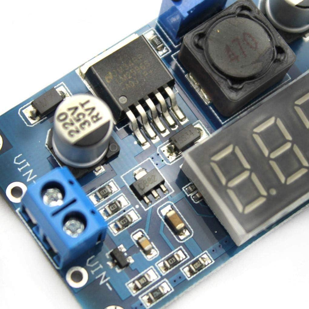 r/égulateur de Tension 4V-40V /à 1.25V-37V Del Module abaisseur de Puissance r/églable CC-CC LM2596 Convertisseur de diodes /électroluminescentes