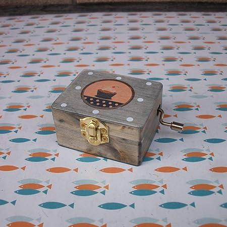 SHANYYH Caja de música Shanyh de Madera Pintada con Caja de música ...