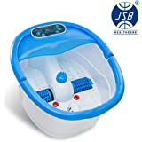 JSB HF37 Foot Spa Massager with auto-rollers