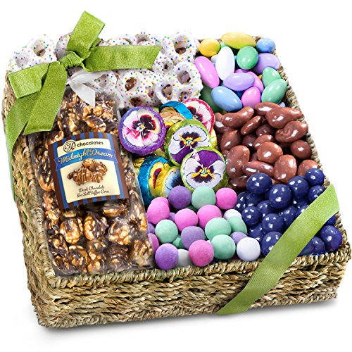 Golden State Fruit Spring Chocolate, Sweets, and Treats Gift Basket