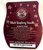 Scentsy Black Raspberry Vanilla Wickless Candle Tart Warmer Wax, 3.2 fl oz
