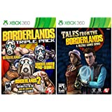 Borderlands Complete Quadriple Pack Themed Bundle - All 4 Borderlands Games on Xbox 360! Borderlands Triple Pack plus ALL ADD-ON Content PLUS Tales From The Borderlands