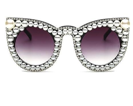 Amazon.com: NPLE - Gafas de sol para mujer, diseño vintage ...