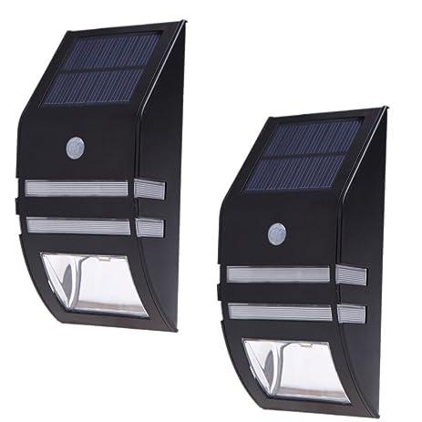 solar light nekteck wireless bright solar powered motion sensor light street light outdoor