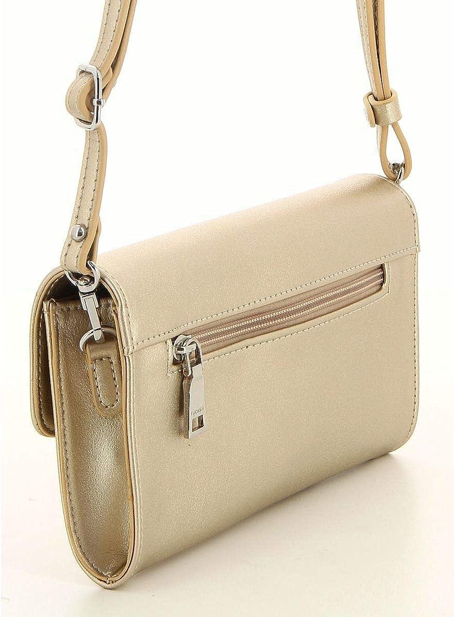taille 12 cm Fuchsia Mini pochette /à rabat classique femme simili cuir Saint Malo f9837-1