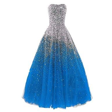 Lovelybride Erstaunlich Liebsten Perlen Abendkleid lange formale ...