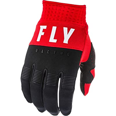 Fly Racing 2020 F-16 Gloves (X-Small) (RED/Black/White): Automotive