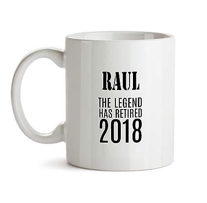raul retirement gift mug bb70 funny name co worker boss work colleague leaving retiring