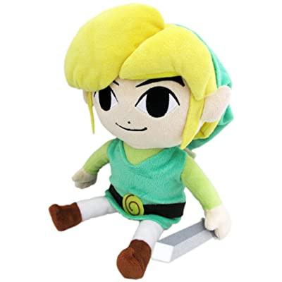 "Little Buddy The Legend of Zelda The Wind Waker 8"" HD Link Plush: Toys & Games"