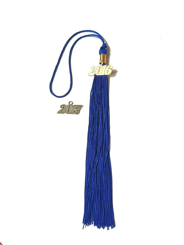 Grad Days Kindergarten Graduation Gown Cap Tassel 2018 Shiny Royal Blue
