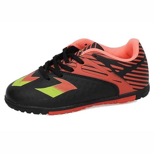DEMAX 3-7915P-12 Zapatillas Futsal NIÑO Deportivos Negro-Naranja 32: Amazon.es: Zapatos y complementos