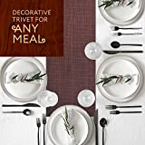 TRIVETRUNNER :Decorative Trivet and Kitchen Table