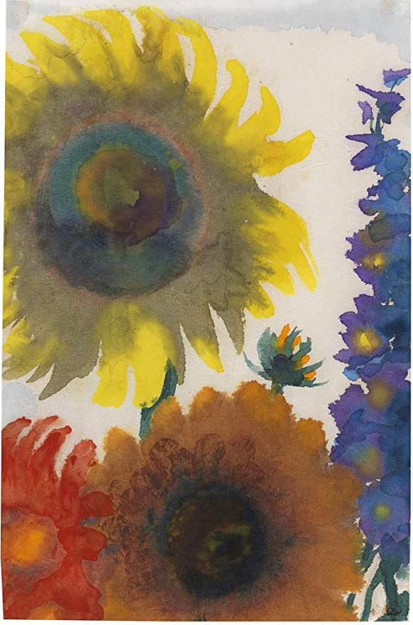 Emil Nolde Steamers at sea Giclee Canvas Print Paintings Poster Reproduction