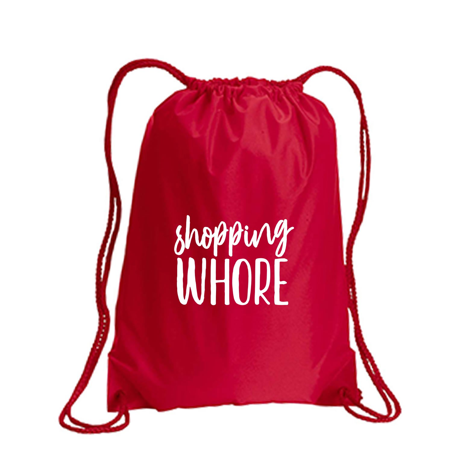 Shopping Whore Cinch Pack