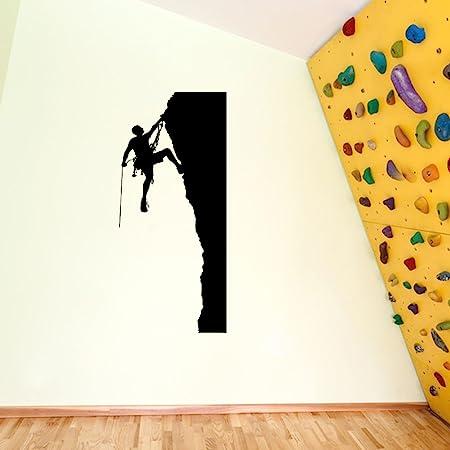 rockclimbing roca Boldering escalada 03 decoraciones de pared pegatinas de ventana decoración de la pared pegatinas de pared Wall Art adhesivos de ...