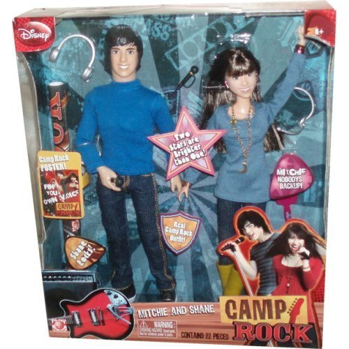 Camp Rock Fashion Dolls 2-Pk M and S, Baby & Kids Zone