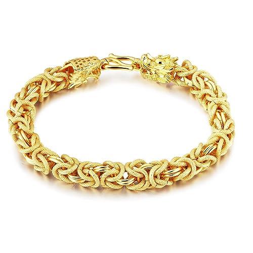 Solid Gold Mens Bracelet - Page 2 - Medical Bracelets for Men