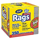 Scott OBlyim Rags in a Box, 350 Towels (2 Pack)