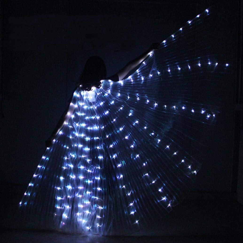 Amazon.com: Z&X - Alas de baile para aberturas de vientre ...
