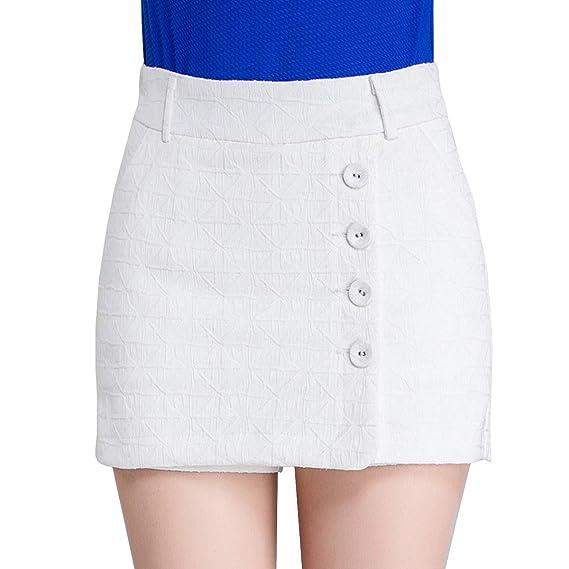 e8ca219c16 DISSA F509 Shorts Pantalons Court Taille Haute Mince Mode Femme: Amazon.fr:  Vêtements et accessoires