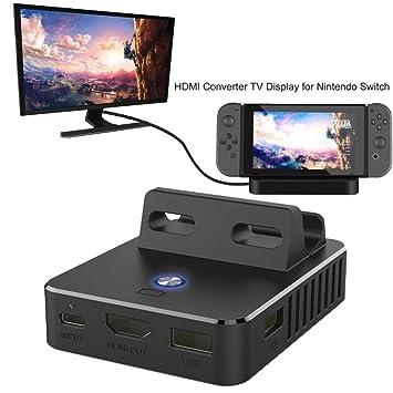Hunpta Mini Base de carga HDMI convertidor TV Display para ...