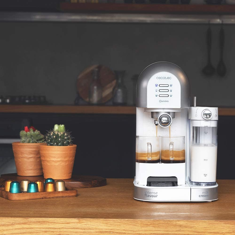 Cecotec Cafetera Semiautomática Power Instant-ccino 20 Chic Serie ...