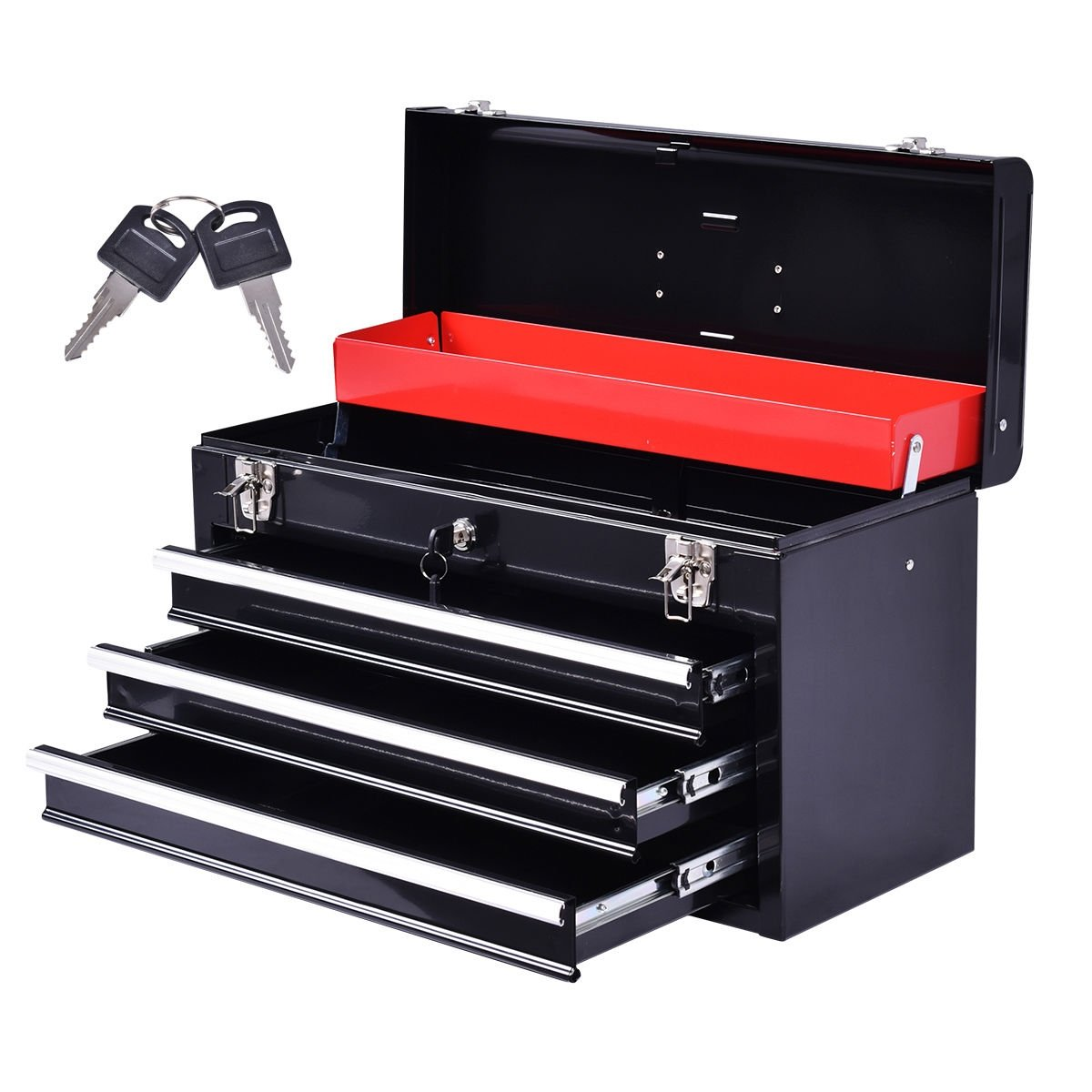 Tool Box Organizer with Drawers by DTOFREE