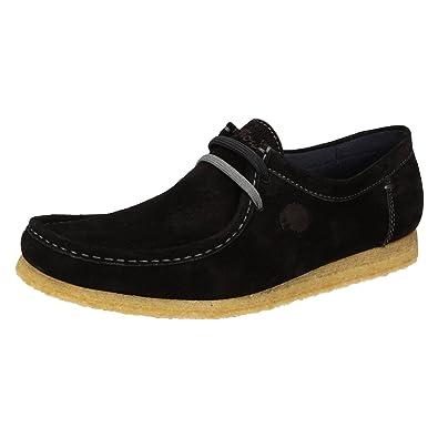 Chaussures Sioux Pour Lacets À Ville Noir De Homme 1xx6wB