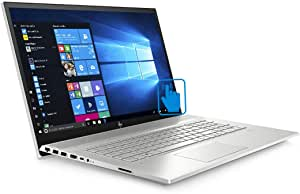 """HP Envy 17t 10th Gen Touch Home and Entertainment Laptop (Intel i7-10510U 4-Core, 64GB RAM, 1TB SATA SSD, 17.3"""" Touch Full HD (1920x1080), NVIDIA MX250, Wifi, Bluetooth, Webcam, Win 10 Pro)"""
