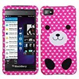 z10 full housing - MYBAT BB10HPCIM1062NP Slim and Stylish Snap-On Protective Case for BlackBerry Z10 - Retail Packaging - Dog Love