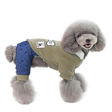 Elvoo Otoño e invierno Nuevo engrosamiento, más ropa de terciopelo para perros Ropa de algodón de ...