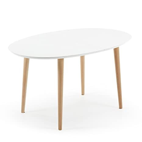 Cm Kave Oqui Home Extensible Ovale 90 Blanc Table 140220X 5qc3jL4AR