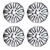 "17""SET OF 4 Aftermarket ABS Universal Wheel Cover Hubcap Fits Most 17"" Rims 2011 2012 2013 2014 Chrysler (4) ~We Pay Your Sales Tax"