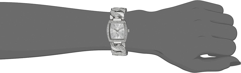 Amazon.com: U.S. Polo Assn. Women's Analog-Quartz Watch with Alloy Strap,  Silver, 22 (Model: USC40201AZ): Watches