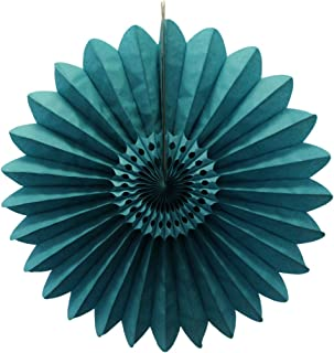 product image for 6-Pack 18 Inch Tissue Paper Fanburst (Teal Green)