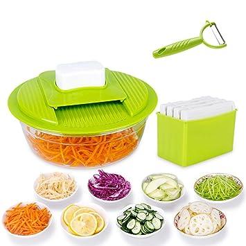 Rallador de verduras de acero inoxidable para cortar ...