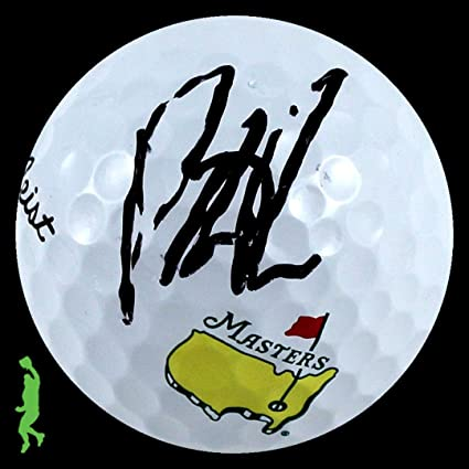 Patrick Reed Autographed Signed Titleist Pro V1 Masters Golf