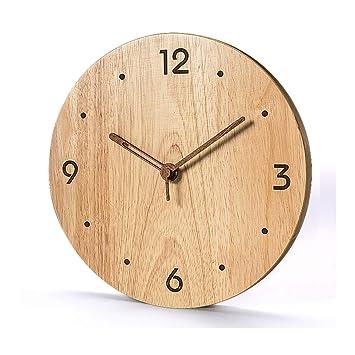 ppgz-S Reloj De Pared Relojes De La Sala De Estar De Madera Decoración De