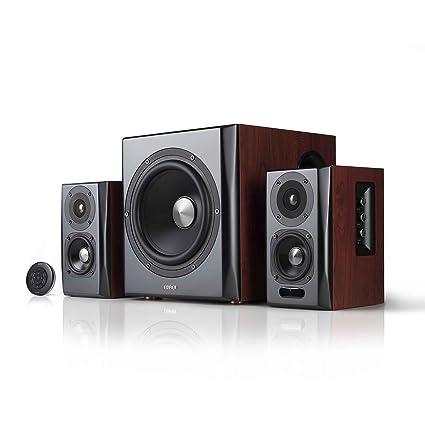 Edifier S350DB Bookshelf Speaker And Subwoofer 21 System Bluetooth V41 AptX Wireless Sound