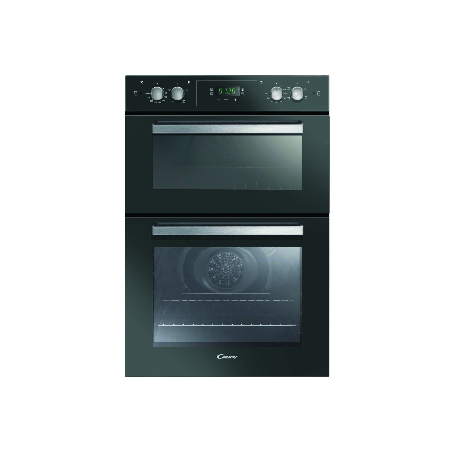 Candy FC9D815NX Electric Built-in Fan Double Oven - Black