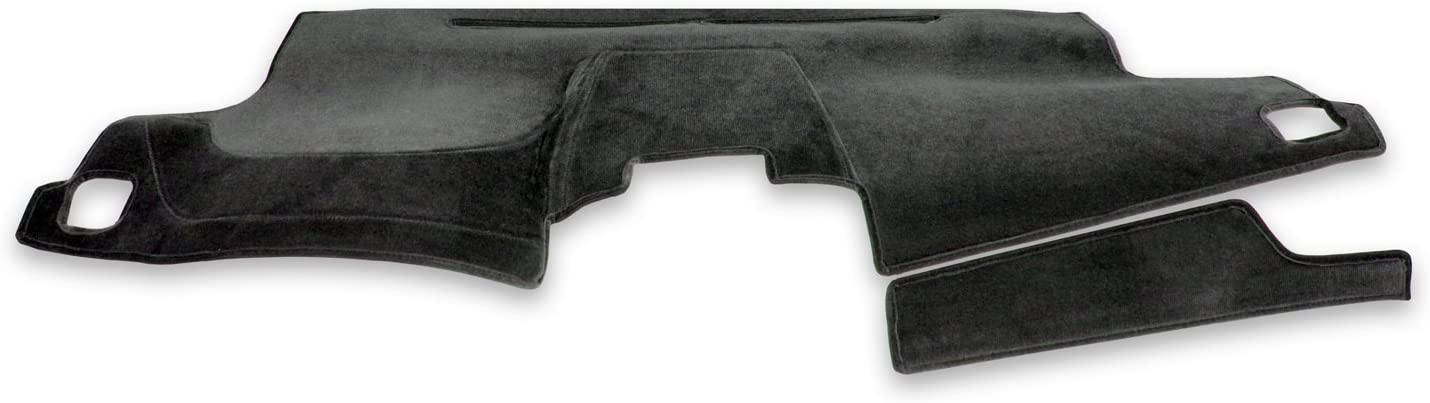 Coverking Custom Fit Dashcovers for Select Hyundai Sonata Models Black Molded Carpet