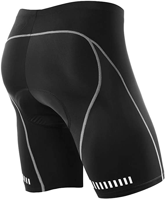NOOYME Men's Cycling Shorts 3D Gel Padded Bicycle Riding Men's Bike Shorts