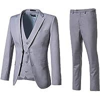 High-End Suits 3 Pieces Men Suit Set Regular Fit White Wedding/Prom Suit for Men Jacket+Pant+Vest Business Casual Suit
