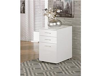 baraga white file cabinet
