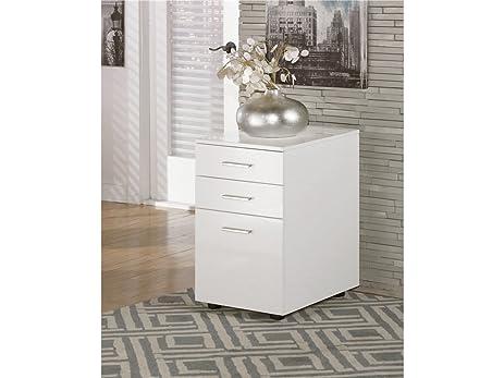 Amazon.com: Baraga White File Cabinet: Kitchen & Dining