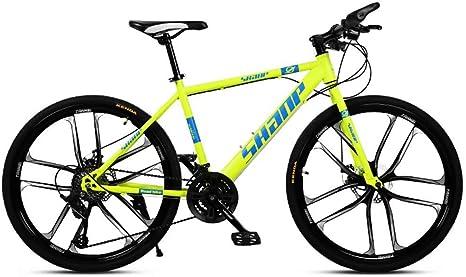 NOVOKART Mountain Bike Unisex, Bicicletas de Montaña 24,26 ...