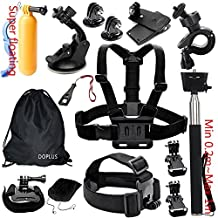 Accessories Kit Case Outdoor Sports Accessories Kit for GoPro Hero Black Silver 5/4/3+/3/2/1 SJ4000 SJ5000 SJ6000, Accessories for Action Video Cameras Xiaomi Yi/WiMiUS/Lightdow/DBPOWER/Apeman/AKASO
