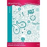 EK Success American Girl Crafts Doodle Design Sketchbook, Art