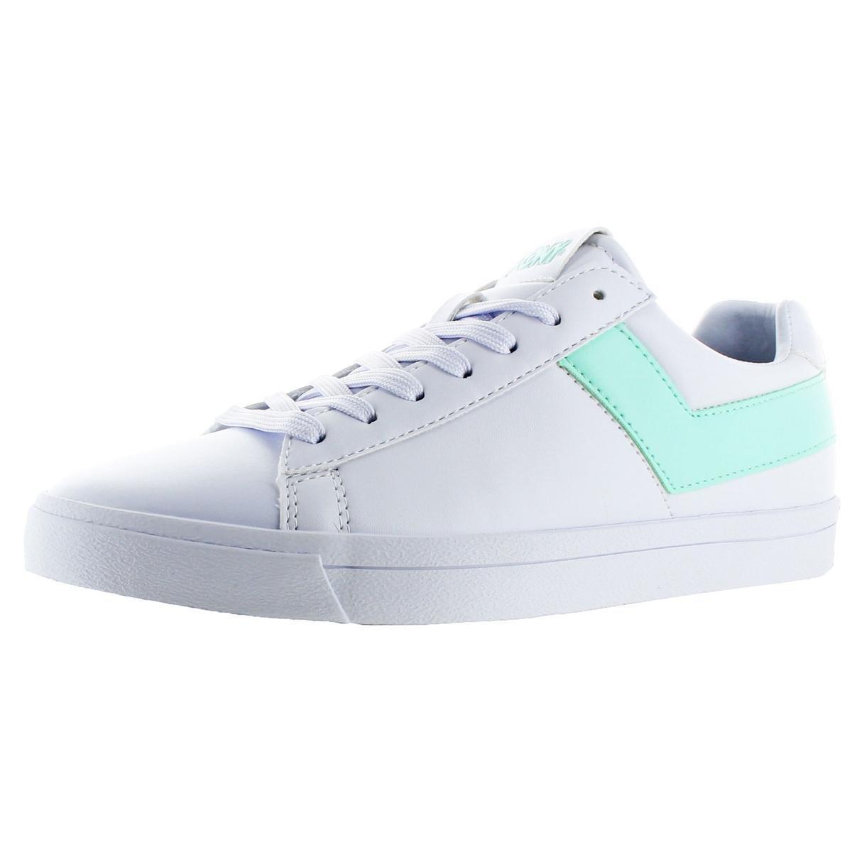Pony Top Star Core Women's Retro Fashion Sneaker Shoes B07CR2BLKC 7.5 M US|White/Mint